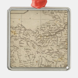 Turkey in Europe Map by Arrowsmith Christmas Ornament