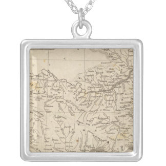 Turkey in Europe Map by Arrowsmith Silver Plated Necklace