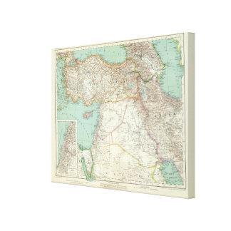 Turkey, Iraq, Asia Canvas Print