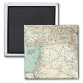 Turkey, Iraq, Asia Square Magnet