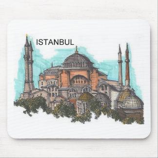 Turkey Istanbul Hagia Sophia (by St.K) Mouse Mat