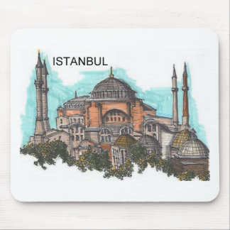 Turkey Istanbul Hagia Sophia (by St.K) Mouse Pad