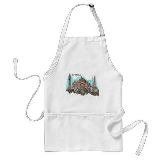 Turkey Istanbul Hagia Sophia (by St.K) Standard Apron