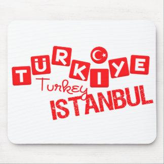 TURKEY ISTANBUL mousepad - customize