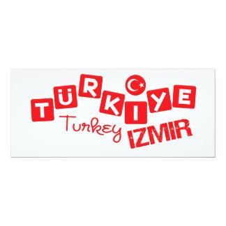 TURKEY IZMIR invitation - customize