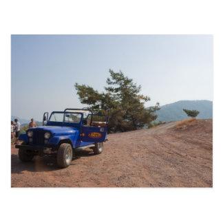 Turkey Jeep Safari Postcard