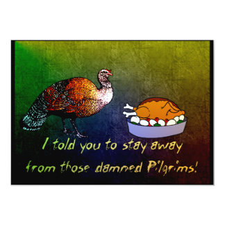 Turkey Lament Card