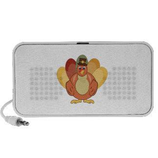Turkey Man Portable Speakers