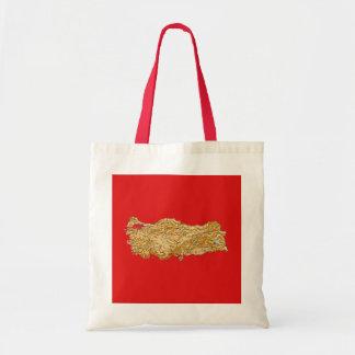 Turkey Map Bag