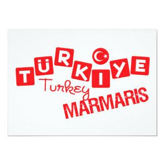 TURKEY MARMARIS invitation - customize