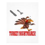 Turkey Nightmares 21.5 Cm X 28 Cm Flyer