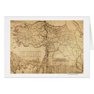 Turkey, Ottoman EmpirePanoramic MapTurkey Card