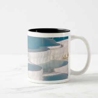 Turkey, Pamukkale Cotton Castle). Two-Tone Coffee Mug
