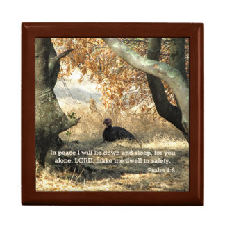 Turkey Paradise Psalm Jewelry Box