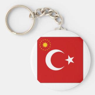 Turkey President Flag Keychain