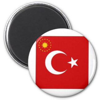 Turkey President Flag Magnet