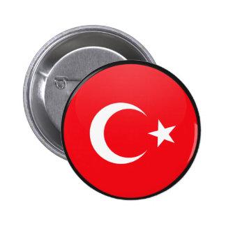 Turkey quality Flag Circle 6 Cm Round Badge
