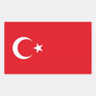TURKEY RECTANGLE STICKERS