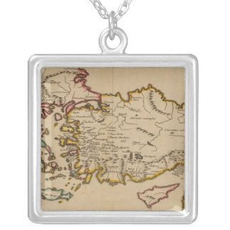 Turkey, Rome, Greece Silver Plated Necklace