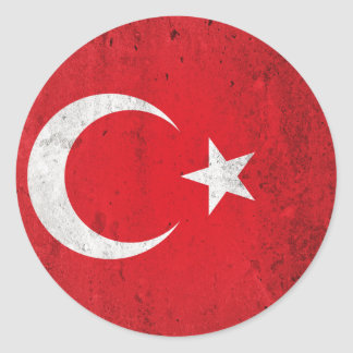 Turkey Round Sticker