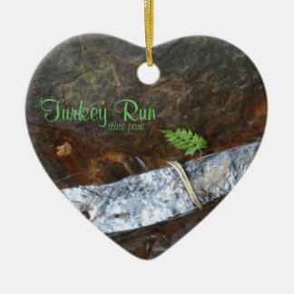 Turkey Run state park Christmas Ornament