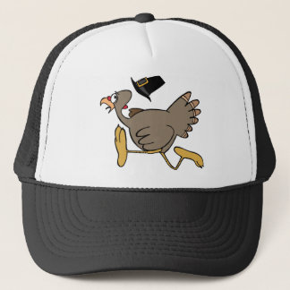 Turkey run trucker hat