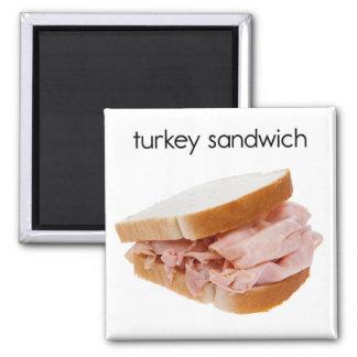 Turkey Sandwich Refrigerator Magnet