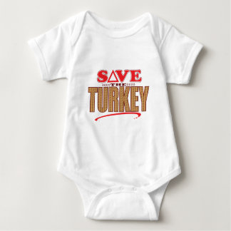 Turkey Save Baby Bodysuit