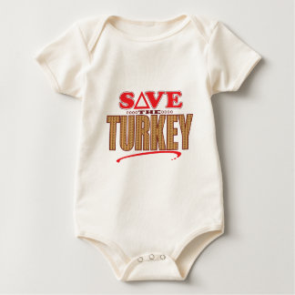 Turkey Save Baby Bodysuit