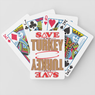 Turkey Save Bicycle Playing Cards