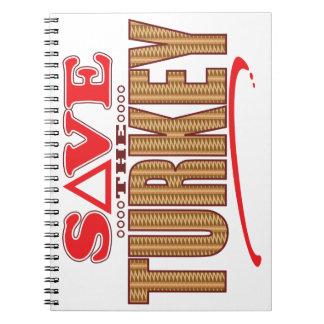 Turkey Save Notebook