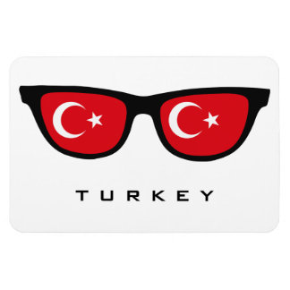 Turkey Shades custom text & color magnet