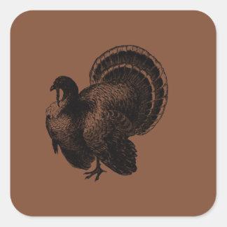 Turkey Square Sticker