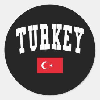 Turkey Style Sticker