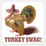 Turkey Swag Stickers