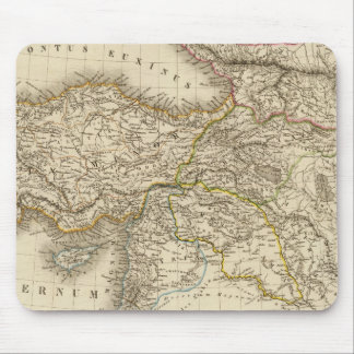 Turkey Syria map Mouse Mat