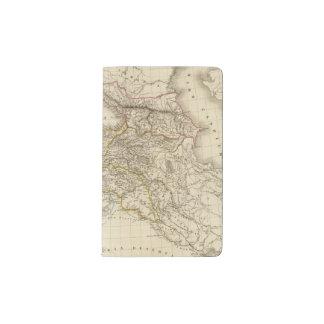 Turkey Syria map Pocket Moleskine Notebook