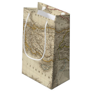 Turkey Syria map Small Gift Bag