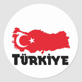 Turkey T-Shirts & Gifts Classic Round Sticker