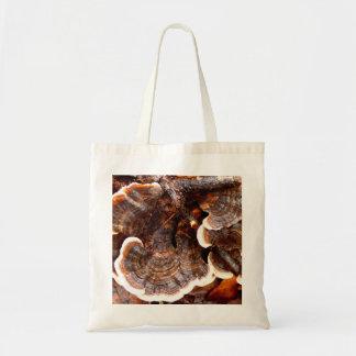 Turkey Tails Fungi Tote Bag