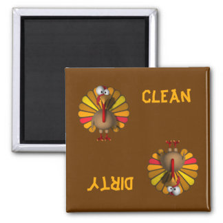 Turkey Thanksgiving Dishwasher Magnet