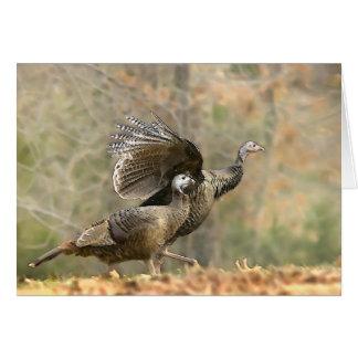 Turkey Trot Card