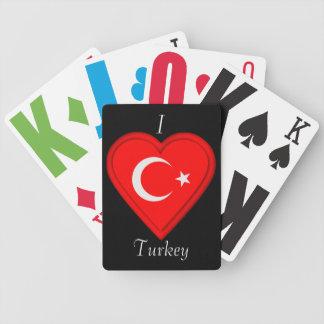 Turkey Turkish flag Bicycle Playing Cards