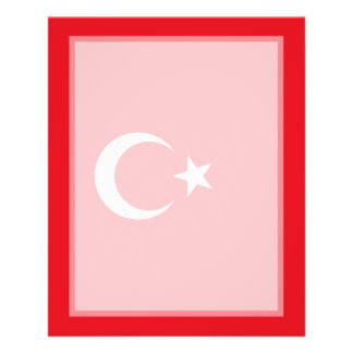 Turkey – Turkish Flag Personalized Flyer