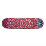 Turkey,Turkish Textile Cloth Rug Pattern Skate Boards