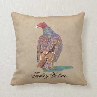 TURKEY VULTURE CUSHION