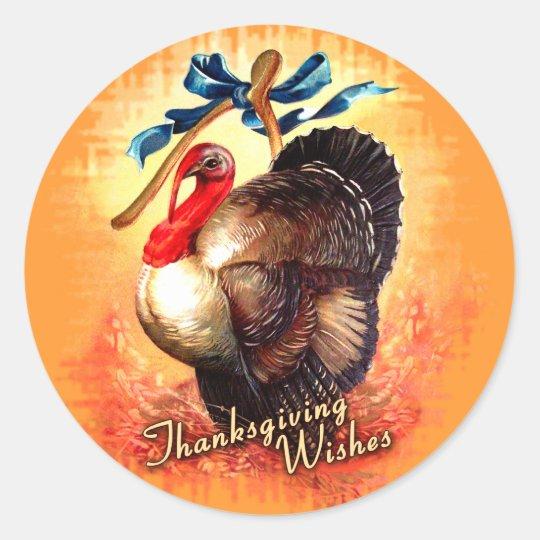 Turkey Wishes Sticker