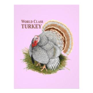 Turkey:  World Class 21.5 Cm X 28 Cm Flyer
