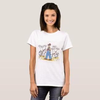 Turkeys Tricking The Farmer T-Shirt