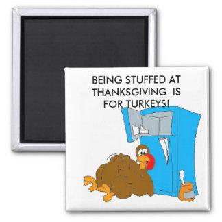 Turkeystuffing, BEING STUFFED AT THANKSGIVING  ... Magnet
